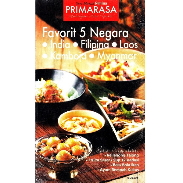 Primarasa: Favorit 5 Negara India-Filipina-Laos-Kamboja-Myanmar