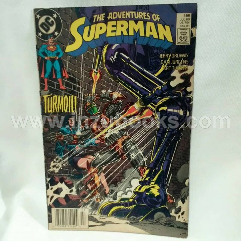 The Adventures of Superman #456