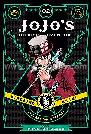 [PO] JoJo's Bizarre Adventure: Part 1--Phantom Blood, Vol. 2