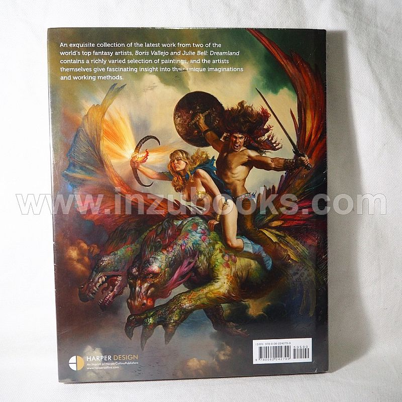Dreamland by Boris Vallejo and Julie Bell (Artbook)