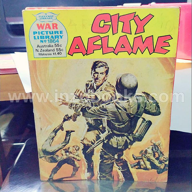 2019 War Picture Library 1864 City Aflame