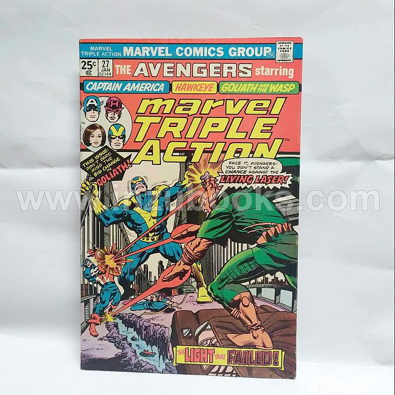 Marvel Triple Action #27