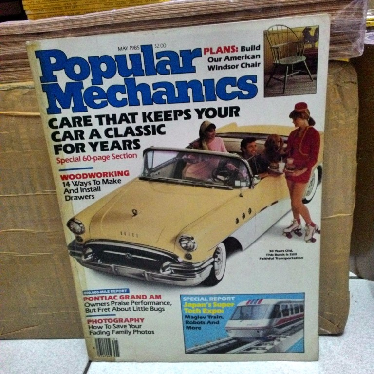 Popular Mechanics 1985-05 May 1985