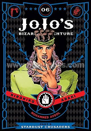 [PO] JoJo's Bizarre Adventure Part 3--Stardust Crusaders, Vol. 6