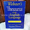1908 Webster's Thesaurus of the English Language